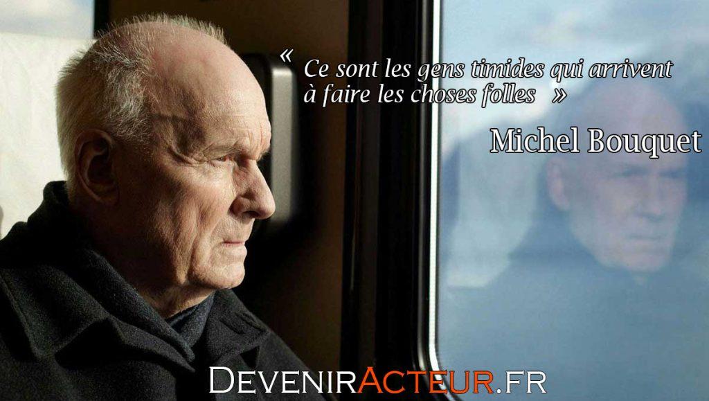 Michel Bouquet timide